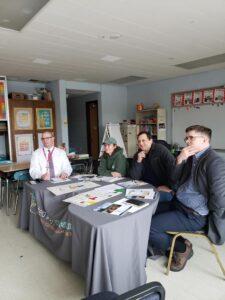 Fall Brook panelists at table