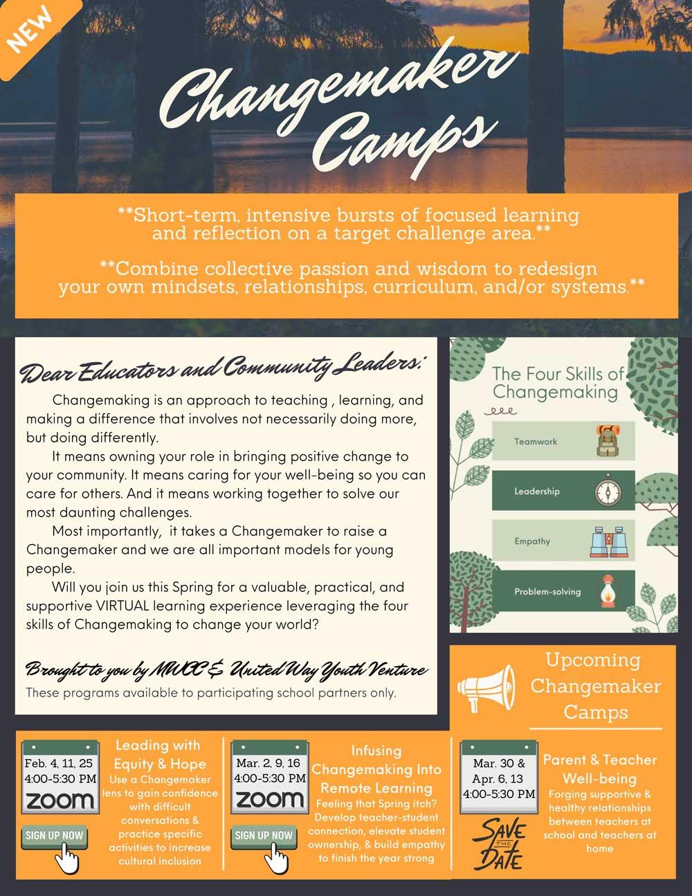 Changemaker-Camps-Overview-Flyer